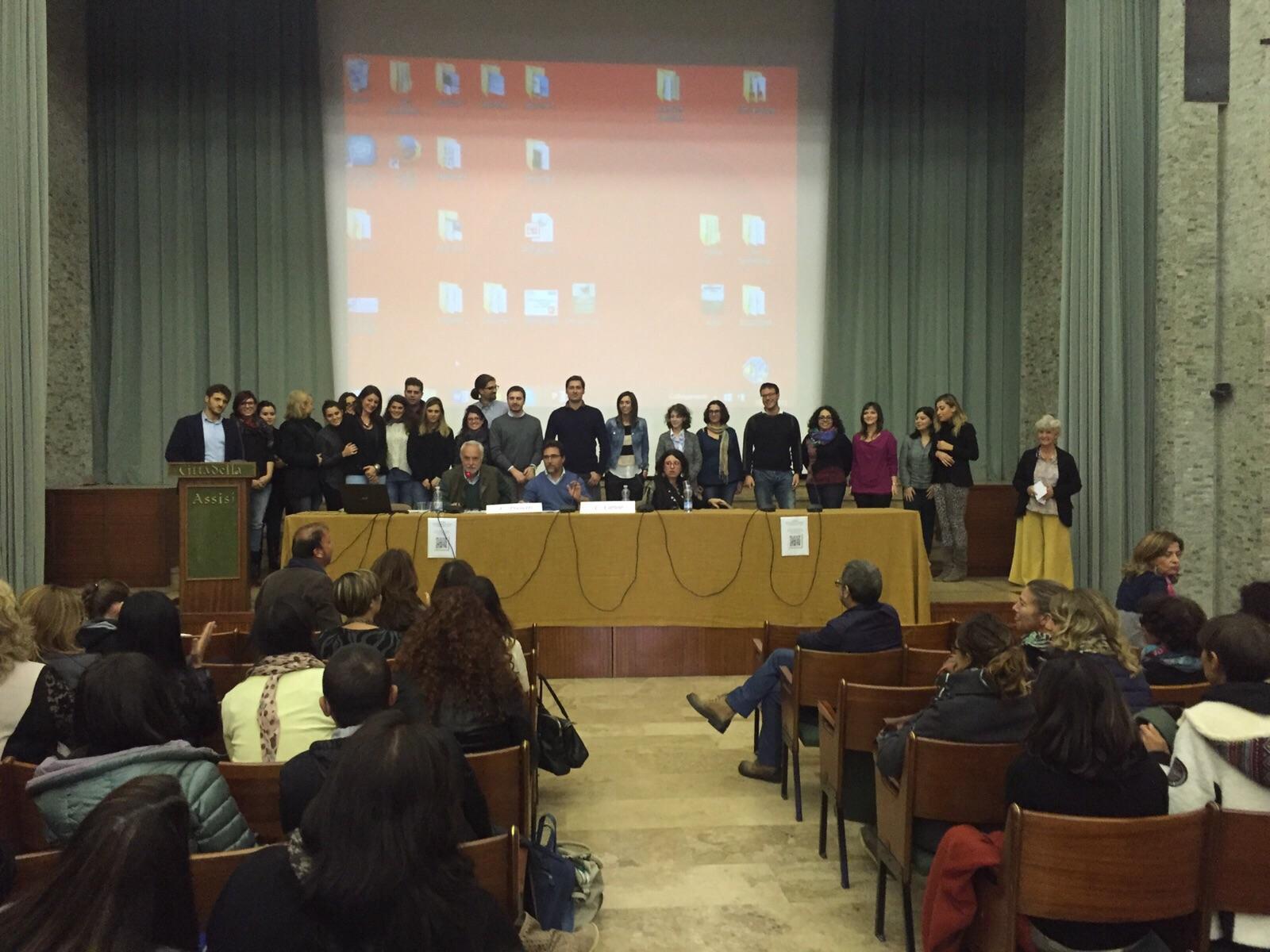I premiati al VI Forum di Assisi