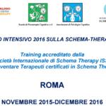 Corso Intensivo sulla Schema Therapy 2016: Impressioni dal Workshop 1