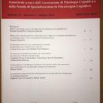 Aspetti neurofisiologici e psicobiologici in psicopatologia sperimentale