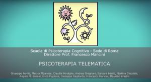 Psicoterapia telematica: il parere degli psicoterapeuti e il punto di vista dei pazienti.